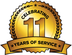 Celebrating Eleven Years of Service